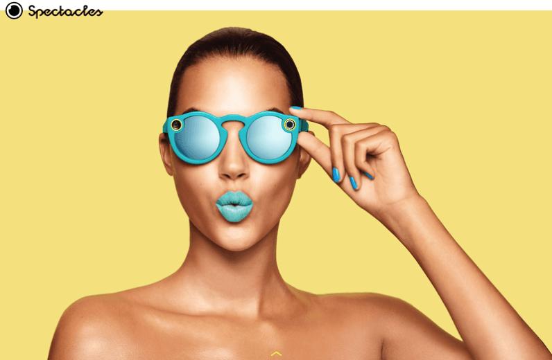 Snapchat'den Kameralı Gözlük : Spectacles