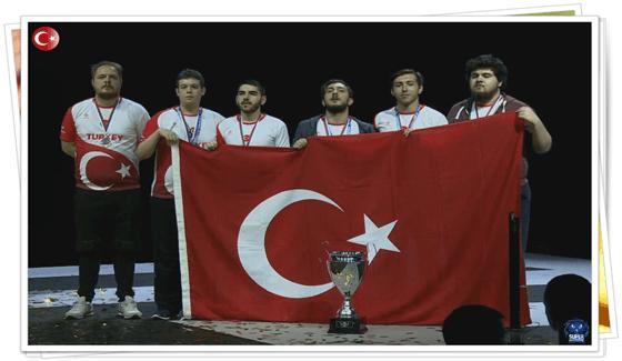 Türkiye Dünya Şampiyonu Oldu!