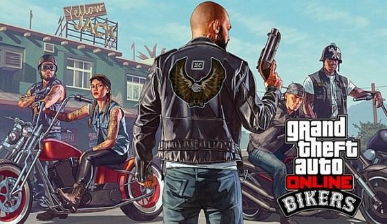 GTA Bikers (Motorcular) Güncellemesi Geldi