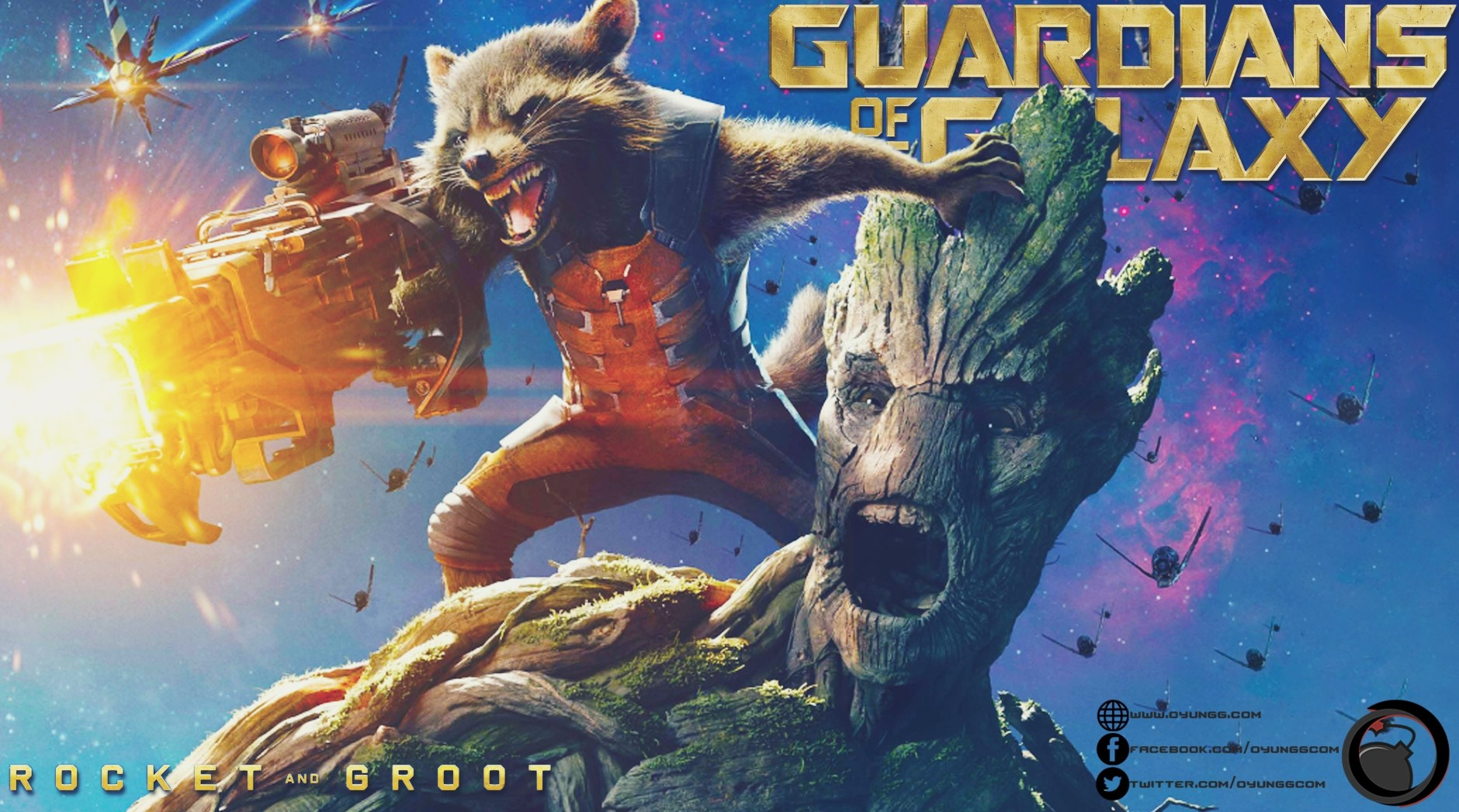 Guardians of The Galaxy Oyun Oluyor