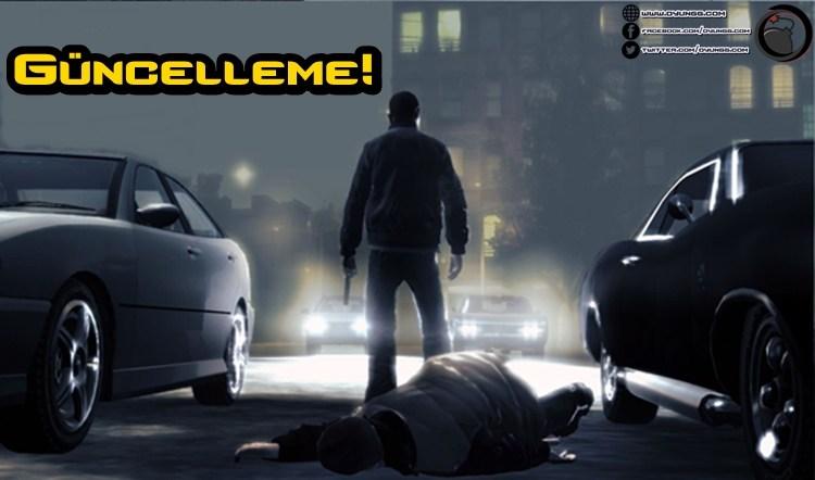 GTA 4 Yeni Bir Güncellemeye Kavuştu