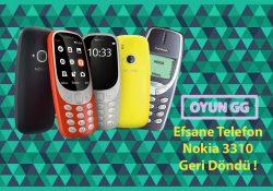 Efsane Döndü ! Nokia 3310