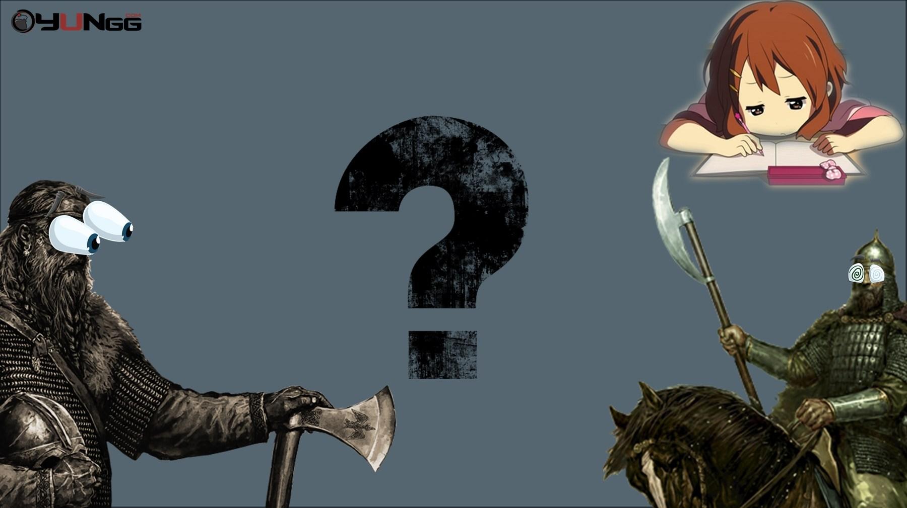Mount and Blade Bilginizi Ölçüyoruz #2