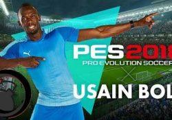 Usain Bolt PES 2018'de Oyuncularla Buluşuyor!