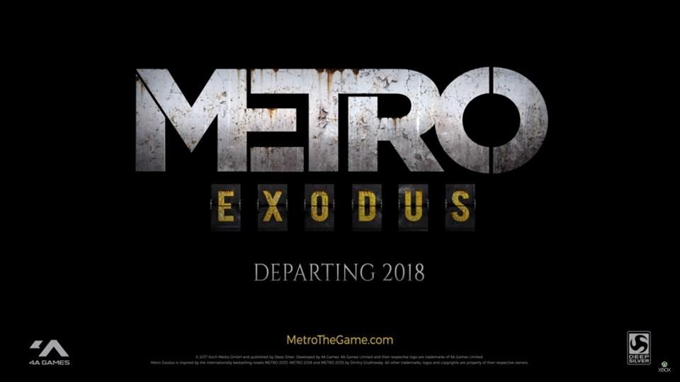 metro exodus 2017