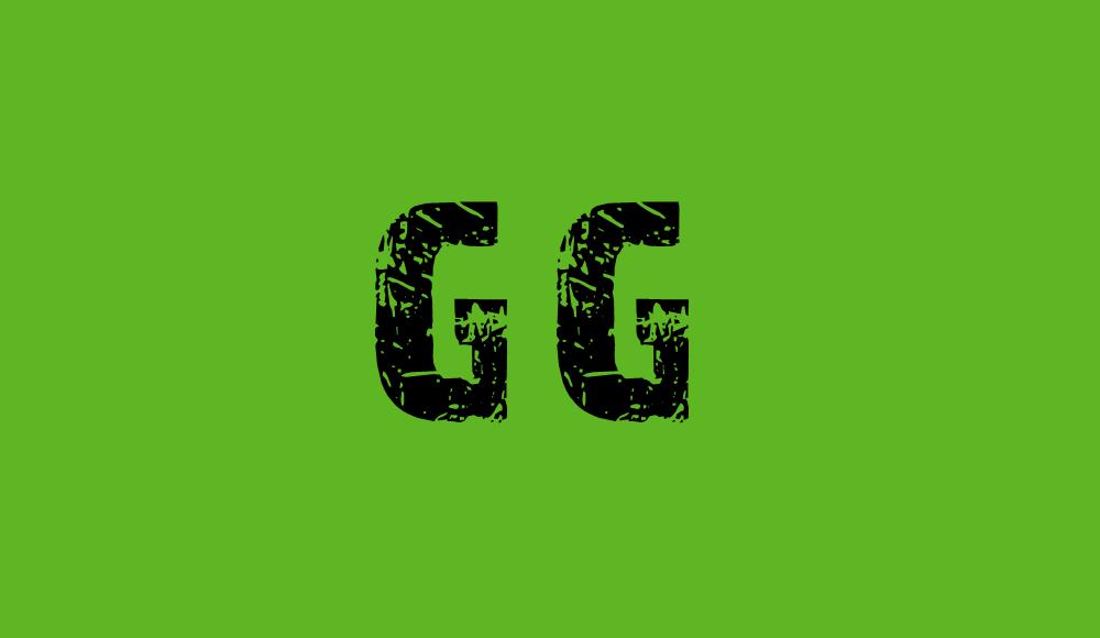 gg kelime anlamı, gg ne demek