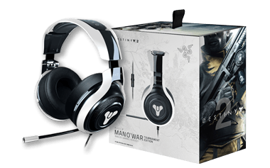 Razer Destıny 2 Edition- Razer ManO'War Tournament Edition Gaming Headset
